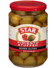 Star® Pimiento Stuffed Queen Olives 16 oz. Glass Jar