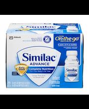 Similac® Advance® OptiGro™ On-The-Go® Infant Formula with Iro...