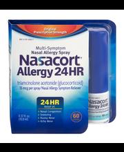 Nasacort Allergy 24HR Multi-Symptom Nasal Allergy 60 Sprays