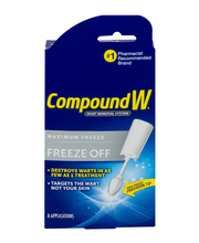 Compound W Freeze Off Wart Removal System Maximum Freeze - 8 CT