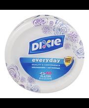 Dixie Everyday Plates - 48 CT