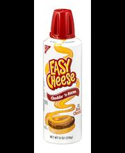 Nabisco Easy Cheese Cheddar 'n Bacon Cheese Snack 8 oz. Spray...