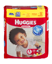 Huggies® Snug and Dry Diapers Size 5 25 ct Pack
