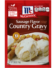 McCormick® Sausage Country Gravy Mix, 2.64 oz. Packet