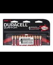 Quantum Duracell Quantum Alkaline AAA Batteries 12 Count