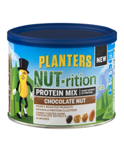 Planters NUT-rition Chocolate Nut Protein Mix 10 oz. Canister