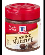 McCormick® Ground Nutmeg 1.1 oz. Bottle
