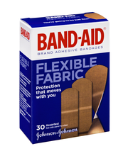 Band-Aid® Brand Flexible Fabric Assorted Sizes Adhesive Banda...