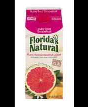 Florida's Natural Ruby Red Grapefruit Juice