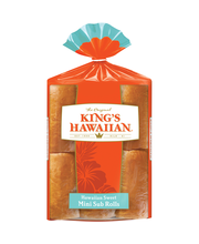 King's Hawaiian® Hawaiian Sweet Mini Sub Rolls 6 ct Bag