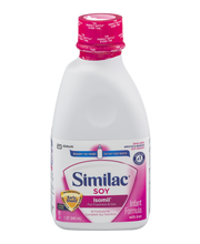Similac® Soy Isomil® for Fussiness & Gas OptiGro™ Infant Form...