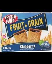 Wf Frt/Grn Bars Blueberry