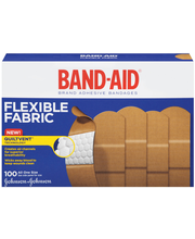 Band-Aid® Brand Dryfit™ All One Size Flexible Fabric Adhesive...