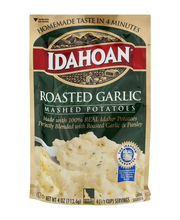 Idahoan® Roasted Garlic Mashed Potatoes 4 oz. Pouch