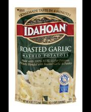 Idahoan® Roasted Garlic Mashed Potatoes 4 oz. Pouch