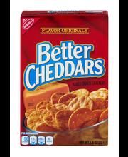 Nabisco Flavor Originals Better Cheddars Baked Snack Crackers...
