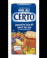 Certo® Premium Liquid Fruit Pectin 6 fl. oz. Box