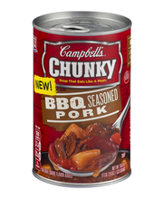 Campbell's® Chunky™ BBQ Seasoned Pork Soup 18.8 oz.