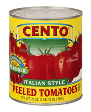 Cento Whole Peeled Tomatoes Italian Style With Basil Leaf