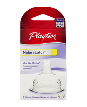 Playtex Baby™ Naturalatch® 3–6 M+ Fast Flow Silicone Nipples ...
