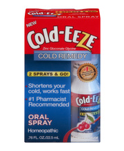 Cold-Eeze Cold Remedy Oral Spray Natural Cherry