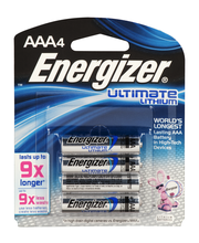 Energizer Ultimate Lithium AAA - 4 CT