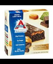 Atkins™ Caramel Double Chocolate Crunch Snack Bar 5-1.6 oz. Bars