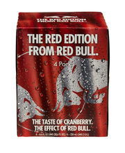 Red Bull The Red Edition Energy Drink - 4 CT