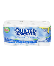 Quilted Northern Bathroom Tissue Ultra Soft & Strong With Cle...