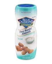 Blue Diamond Almonds Oven Roasted Sea Salt  Almonds 8 Oz Jar