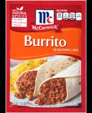 McCormick® Burrito Seasoning Mix 1.62 oz. Packet