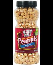 Wf Dry Roasted Peanuts Bottle