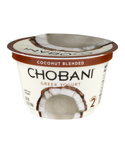 Chobani® Coconut Blended Low-Fat Greek Yogurt 5.3 oz. Cup