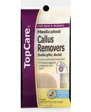 TOPCARE CALLUS RMVR PADS MEDCT