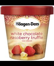 HAAGEN-DAZS White Chocolate Raspberry Truffle Ice Cream 14 fl...