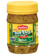 Nalley Hot Dog Relish 10 Oz Jar
