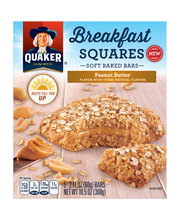 Quaker® Breakfast Squares Soft Baked Bars 5 ct Box