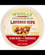 Wholly Guacamole® Layered Dips Black Bean Over Guacamole Laye...