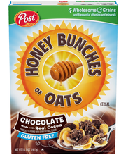 Post® Honey Bunches of Oats® Chocolate Cereal 14.5 oz. Box