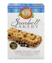 Sunbelt Bakery Granola Bars Chewy Chocolate Chip - 10 CT