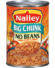 Nalley® Big Chunk No Beans Chili con Carne 14 oz. Can