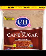 C&H® Pure Cane Dark Brown Sugar 32 oz. Zip Pak