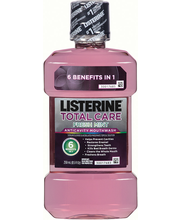Listerine® Total Care Fresh Mint Anticavity Mouthwash 250mL B...