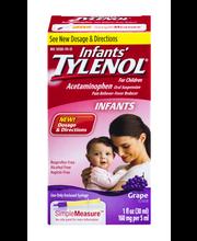 Infants Tylenol® Pain + Fever Infants Grape Flavor Liquid 1 f...