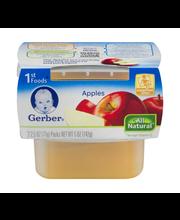 Gerber® 1st Foods® Apples 2-2.5 oz. Cups
