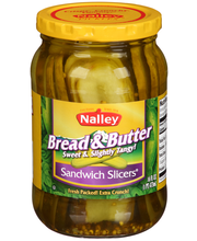 Nalley® Sandwich Slicers® Bread & Butter Pickles 16 fl. oz. Jar
