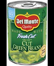 Del Monte® Fresh Cut® Blue Lake® Cut Green Beans 14.5 oz. Pul...