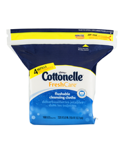 Cottonelle® Fresh Care™ Flushable Cleansing Cloths Refills 16...