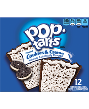 Kellogg's® Pop-Tarts® Frosted Cookies & Creme Toaster Pastrie...