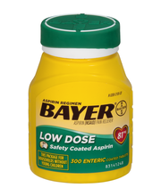 Bayer® Low Dose 81mg Enteric Coated Tablets 300 ct Bottle